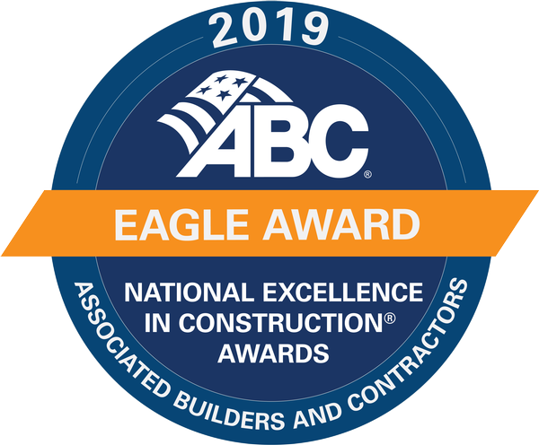 Greiner Wins ABC's Eagle Award for Excellence in Construction